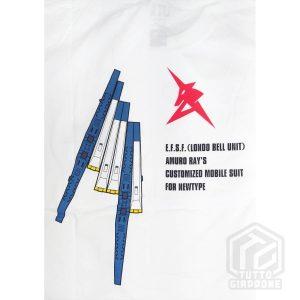 bandai gundam gunpla RX 93 t shirt retro dettaglio tuttogiappone