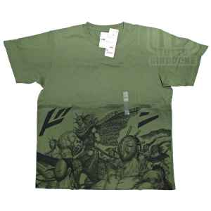 t shirt maglietta golden kingdom fronte tuttogiappone