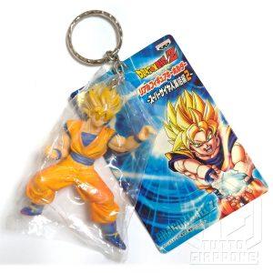Dragonball Goku Super Sayan portachiavi banpresto gashapon 2006 1 tuttogiappone