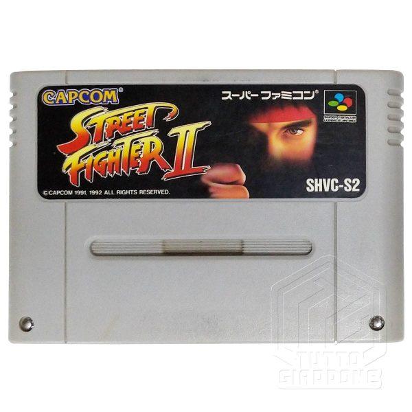 Street Fighter II nes cartuccia tuttogiappone