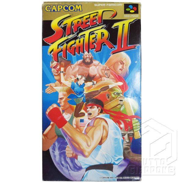 Street Fighter II nes fronte tuttogiappone