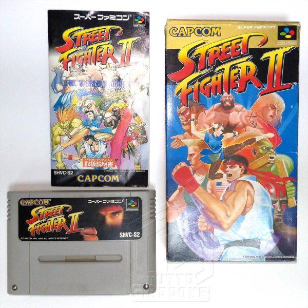 Street Fighter II nes set tuttogiappone