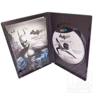 Batman Arkham City Armored Edition Wii U TuttoGiappone custodia aperta