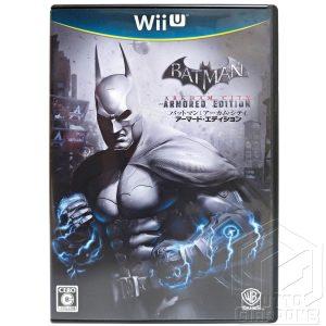 Batman Arkham City Armored Edition Wii U TuttoGiappone fronte