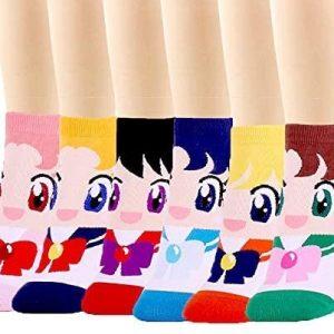 Calzini da donna Sailor Moon cartoni animati giapponesi tuttogiappone 01