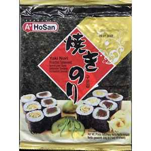 Hosan Alghe Nori per Sushi 1 TuttoGiappone