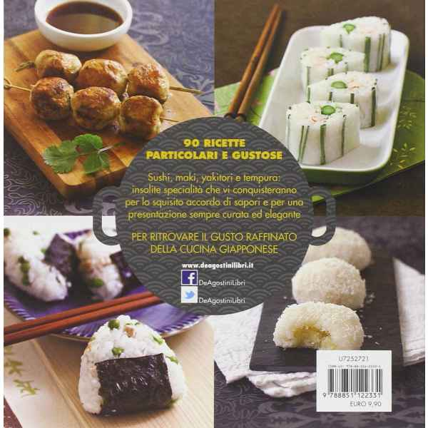 Sushi e dintorni cucina giapponese raffinata alla portata di tutti 2 TuttoGiappone