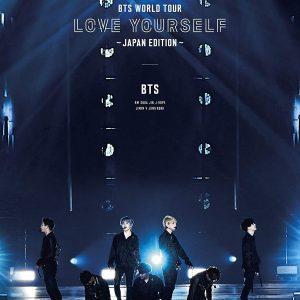 BTS Bangtan Boys Bts World Tour Love Yourself Edizione Giappone Blu ray edizione limitata TuttoGiappone