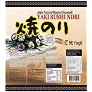 PaC Sushi Nori Sushinori - Alghe per Sushi (500 fogli) 1,25 kg