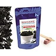 Alghe Essiccate Wakame 50 g Fiocchi Grandi di Wakame Istantenei 3